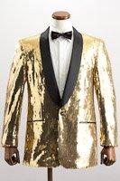 スパンコール シングル ジャケット #418 ゴールド の画像