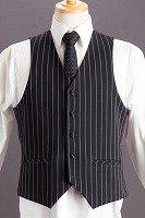 ストライプベスト・Zoot Vest
