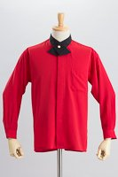 クロスカラーシャツ #a031 レッド