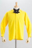クロスカラーシャツ #a031 イエロー