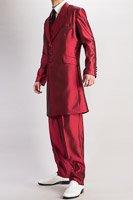 ズートスーツ・zoot suit シャンブレーワインレッド