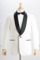 タキシードジャケット 『サイドベンツ』 ホワイト