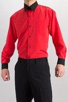 クレリック レギュラーカラーシャツ #4627 グレー