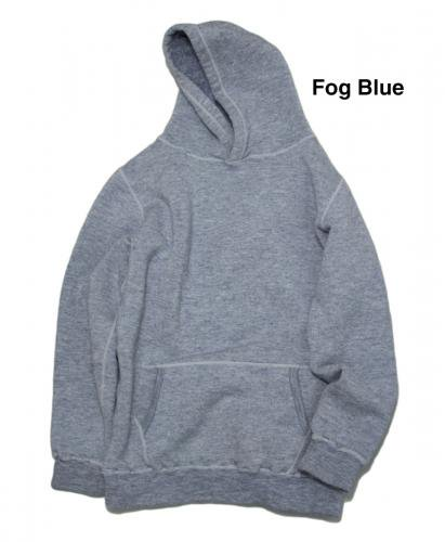 Yetina pullover hoodie / Fog Blue