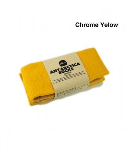 YETINA Antarctica Socks / Chrome Yellow
