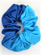 ML シュシュ Turquoise Lycra Ombre