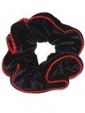 TZ SCRUNCHY Black/Red