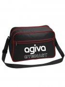 AGIVA スポーツバッグ ブラック/レッド