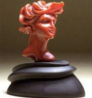 【傑作】サンゴ彫刻「地中海の女性美」 作家ジョヴァンニ・トゥルコ