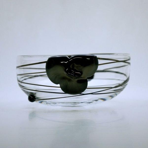 小鉢 (黒 花)