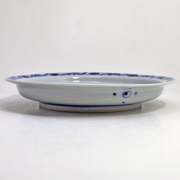 花鳥文平皿(7寸)