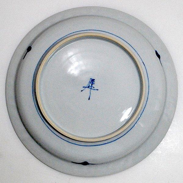 桃唐草7寸皿