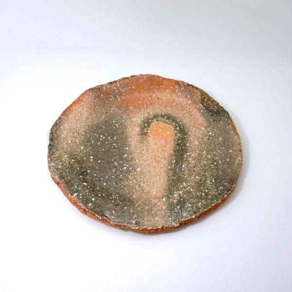 信楽丸板皿