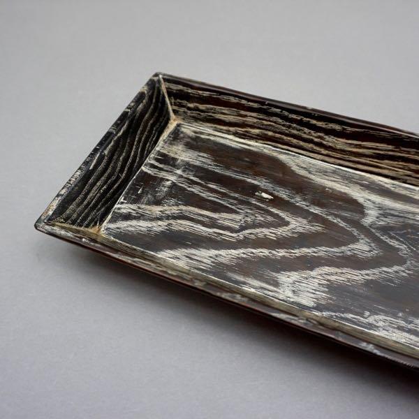 手刳り長方皿