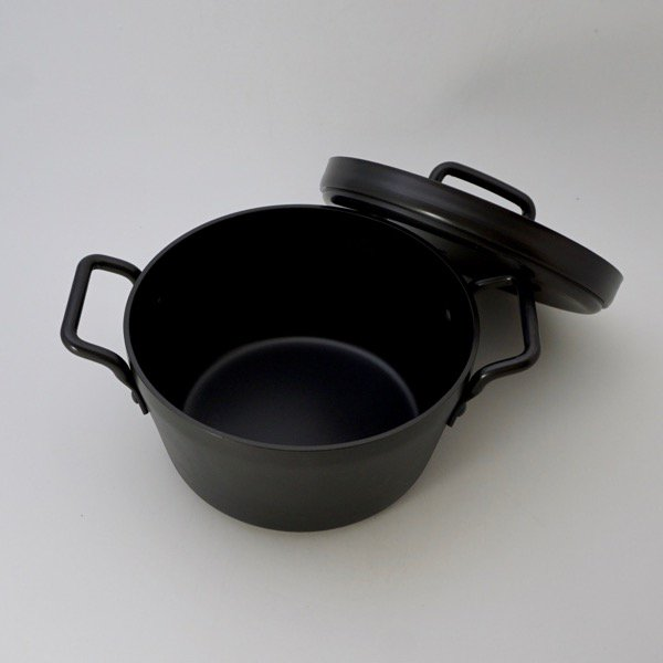 鉄の小さなごはん鍋(木べら付きセット)