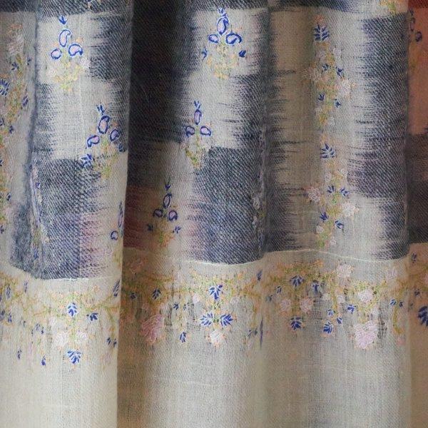 パシュミナソズニ刺繍ストール