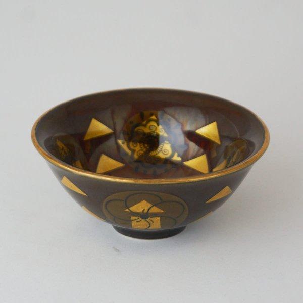 金彩炎釉コラージュ杯