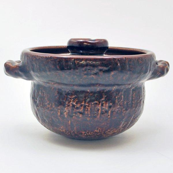 炊飯土鍋 2〜3合炊き 飴釉