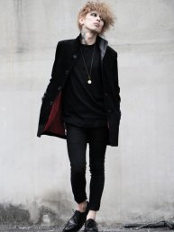Leather Suede Coat
