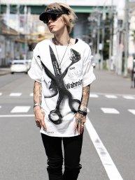 GAUZE Shirt-Wahnsinn-