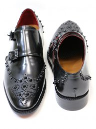 Studs Wingtip shoes