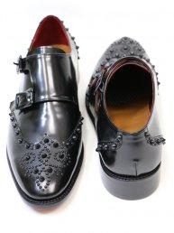 Studs Wingtip shoes