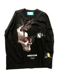 -WISDOOM-/Long-sleeve T-shirt