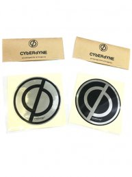 CYbER dYNE LOGO Metal Sticker/丸型ステッカー