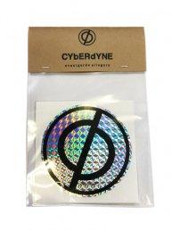 CYbER dYNE LOGO ホログラム Sticker/サークルステッカー