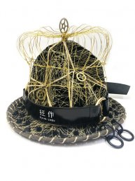 [狂作]kyou-saku King Crown Hat
