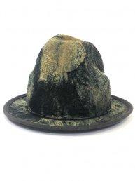 [狂作]kyou-saku Indigo Leather Mountain Hat