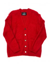 Libbit Mohair Cardigan/Red