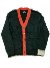 Libbit Mohair Cardigan/Green×Pink×Wht<img class='new_mark_img2' src='https://img.shop-pro.jp/img/new/icons2.gif' style='border:none;display:inline;margin:0px;padding:0px;width:auto;' />