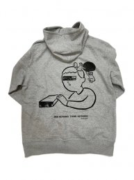 ITO THE UTSUTU /SEE NOTHING THINKNOTHING Hoodie