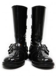DRAGGER BOOTS/Leather-sole