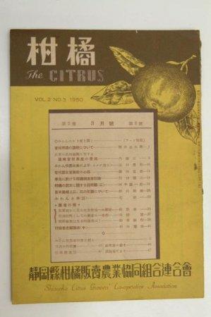柑橘 VOL.2 NO.3 1950 口絵写真:みかんのセリ賣を覗く 静岡県柑橘販売農業協同組合連合会★(送料無料)