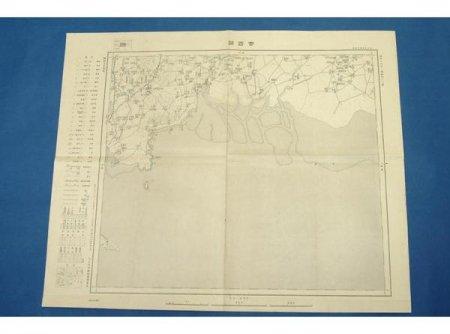 杏西關(満洲十万分一) 大日本帝国陸地測量部 昭和7年(単色)★(送料無料)