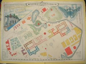 ★第十回関西府県総合共進會會場案内図