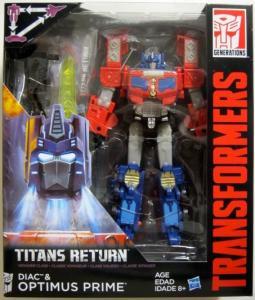 transformers generations titans return diac optimus prime