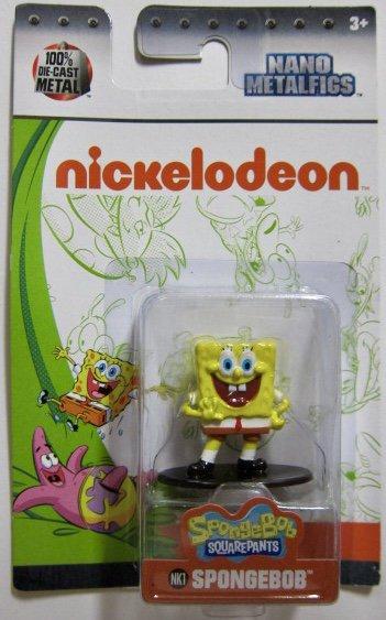 Jada Nano Figures Nickelodeon Figure NK1 Spongebob Squarepants Spongebob