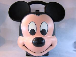 ミッキーマウス 顔型ランチボックス , PopSoda Web Shop