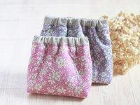 【DL販売】2枚の布で作るバネポーチ