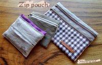 【DL販売】Zip pouch