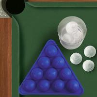 ビリヤードのボールが作れる製氷皿(日本未発売)