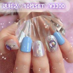 送料込♡10枚SET♡ネイルチップ066