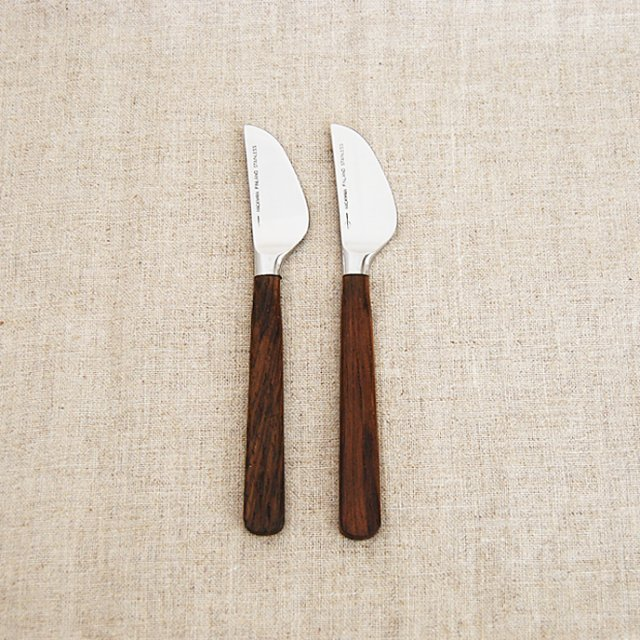 HACKMAN teak ナイフ