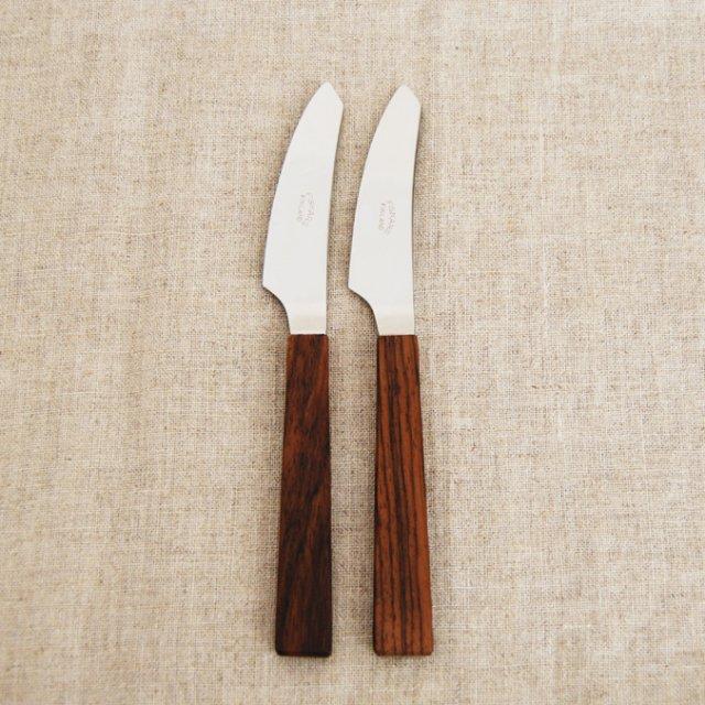 FISKARS teak フルーツナイフ