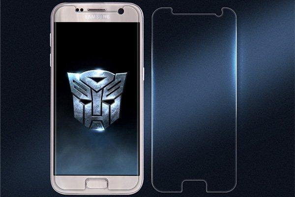 【ネコポス送料無料】Galaxy S7 強化ガラスフィルム ナノコーティング 硬度9H
