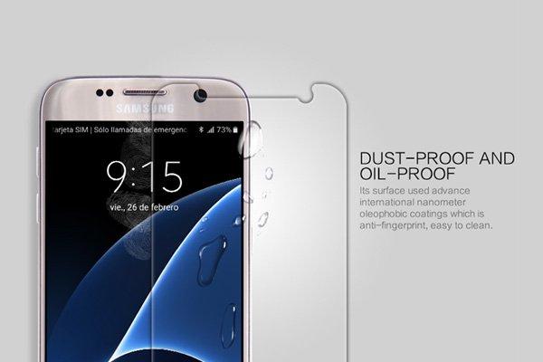 【ネコポス送料無料】Galaxy S7 強化ガラスフィルム ナノコーティング 硬度9H  [3]
