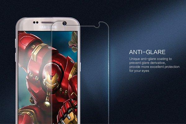 【ネコポス送料無料】Galaxy S7 強化ガラスフィルム ナノコーティング 硬度9H  [4]